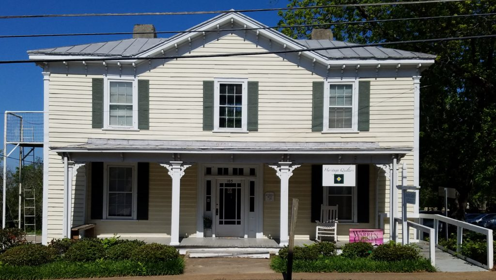 Aaron Hendrick House Historic Heritage Quilters Warrenton North Carolina