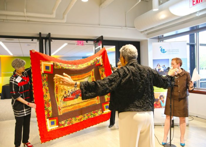 dr johnnetta cole heritage quilters triangle community foundation
